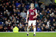 Burnley defender Ben Mee (6) during the Premier League match between Burnley and Manchester United at Turf Moor, Burnley, England on 28 December 2019.