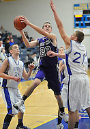 Keystone vs Northwestern boys varsity basketball on February 27, 2012.