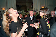 JERRY HALL; DAVID JENKINS; BELLA FREUD, Dinner to mark 50 years with Vogue for David Bailey, hosted by Alexandra Shulman. Claridge's. London. 11 May 2010 *** Local Caption *** -DO NOT ARCHIVE-&copy; Copyright Photograph by Dafydd Jones. 248 Clapham Rd. London SW9 0PZ. Tel 0207 820 0771. www.dafjones.com.<br /> JERRY HALL; DAVID JENKINS; BELLA FREUD, Dinner to mark 50 years with Vogue for David Bailey, hosted by Alexandra Shulman. Claridge's. London. 11 May 2010