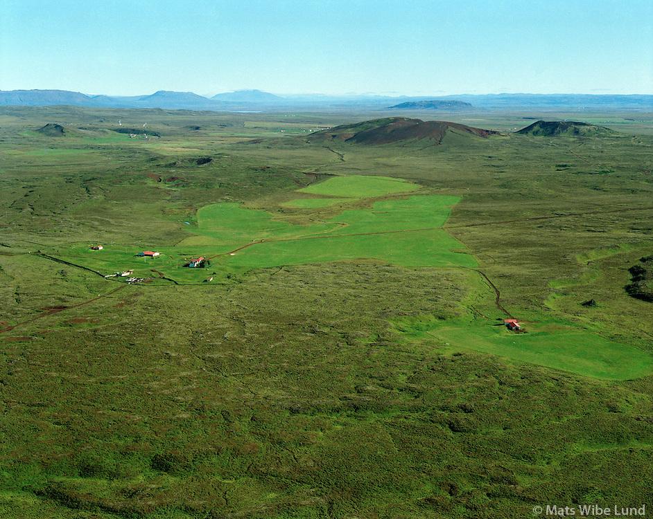 Miðengi,  Grímsneshreppur.Midengi farm in Grimsneshreppur