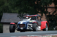 #17 Benjamin ROWSELL Caterham  during Toyo Tires 7 Race Series  as part of the MSVR MINI Festival at Oulton Park, Little Budworth, Cheshire, United Kingdom. July 21 2018. World Copyright Peter Taylor/PSP. Copy of publication required for printed pictures.