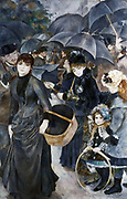 Umbrellas': Pierre August Renoir (1841-1919) French painter . Oil on canvas.