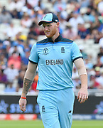 Ben Stokes of England during the ICC Cricket World Cup 2019 semi final match between Australia and England at Edgbaston, Birmingham, United Kingdom on 11 July 2019.