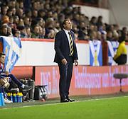 9th November 2017, Pittodrie Stadium, Aberdeen, Scotland; International Football Friendly, Scotland versus Netherlands; Scotland interim manager Malky Mackay