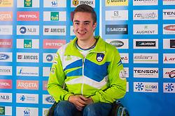 Jernej Slivnik at media day of Ski Association of Slovenia before new winter season 2018/19, on October 4, 2018 in Ski resort Pohorje, Maribor, Slovenia. Photo by Grega Valancic / Sportida
