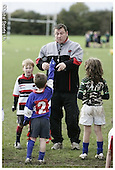 Saracens MasterClass at Hemel Hempstead RFC. 28-10-08. U7s and U8s