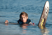 Bradley waterskiing