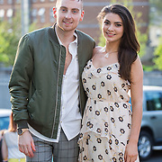 13.05.2016.           <br /> Stephen McLaughlin and Aoife Morgan both from Donegal pictured at the much anticipated Limerick School of Art & Design, LIT, (LSAD) Graduate Fashion Show on Thursday 12th May 2016. The show took place at the LSAD Gallery where 27 graduates from the largest fashion degree programme in Ireland showcased their creations. Ranked among the world's top 50 fashion colleges, Limerick School of Art and Design is continuing to mold future Irish designers.. Picture: Alan Place/Fusionshooters