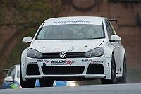 #19 Bobby THOMPSON VW Golf - Team Hard Racing  during Milltek Sports Volkswagen Racing Cup as part of the BRDC British F3/GT Championship Meeting at Oulton Park, Little Budworth, Cheshire, United Kingdom. April 17 2017. World Copyright Peter Taylor/PSP.