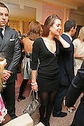 DAVID WALLIAMS AND CHARLOTTE CASIRAGHI, Dinner hosted by Elizabeth Saltzman for Donatella Versace. Claridge's Hotel, Brook Street, Mayfair, London. 11 March 2008.  *** Local Caption *** -DO NOT ARCHIVE-© Copyright Photograph by Dafydd Jones. 248 Clapham Rd. London SW9 0PZ. Tel 0207 820 0771. www.dafjones.com.