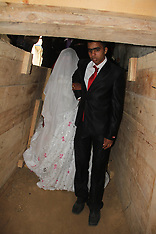 MAR 21 2013 Gaza Wedding through smuggling tunnel