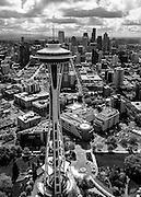 Space Needle, Seattle, WA. Photo by John Lill