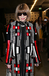 Anna Wintour  arriving at the Topshop Unique show at London Fashion Week A/W 14,  Sunday, 16th February 2014. Picture by Stephen Lock / i-Images
