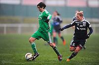 Leonie Multari  - 03.12.2014 - Saint Etienne / Lyon - 11eme journee de Division 1<br /> Photo : Thomas Pictures / Icon Sport