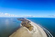Nederland, Friesland, Ameland, 28-02-2016; uiterste oostpunt van het eiland met Het Oerd <br /> Oerderduinen en De Hon.<br /> Eastern extremity of the wadden island Ameland.<br /> <br /> luchtfoto (toeslag op standard tarieven);<br /> aerial photo (additional fee required);<br /> copyright foto/photo Siebe Swart