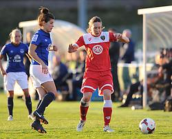 - Photo mandatory by-line: Alex James/JMP - Mobile: 07966 386802 23/08/2014 - SPORT - FOOTBALL - Bristol  - Bristol Academy v Everton Ladies - FA Women's Super league