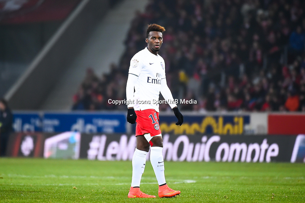 Jean Christophe BAHEBECK - 03.12.2014 - Lille / Paris Saint Germain - 16eme journee de Ligue 1 -<br />