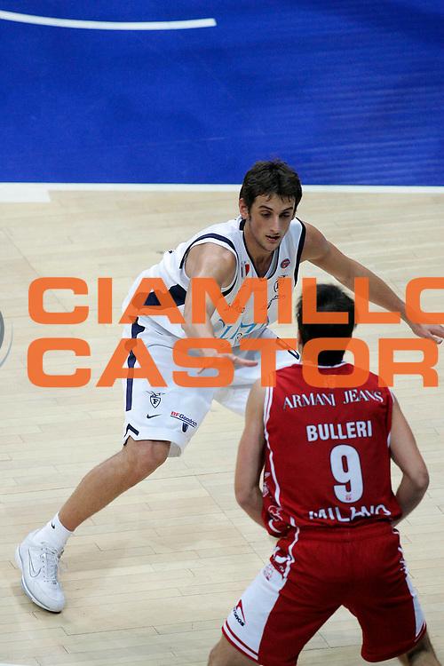 DESCRIZIONE : Bologna Lega A1 2005-06 Climamio Fortitudo Bologna Armani Jeans Milano <br /> GIOCATORE : Belinelli <br /> SQUADRA : Climamio Fortitudo Bologna <br /> EVENTO : Campionato Lega A1 2005-2006 <br /> GARA : Climamio Fortitudo Bologna Armani Jeans Milano <br /> DATA : 20/11/2005 <br /> CATEGORIA : <br /> SPORT : Pallacanestro <br /> AUTORE : Agenzia Ciamillo-Castoria/G.Ciamillo
