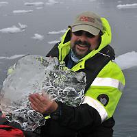 Expedition cruising Antarctic Peninsula.