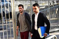 Samuel Honrubia - 17.06.2015 - Proces des paris sportifs du Handball - Montpellier<br /> Photo : Alexandre Dimou / Icon Sport