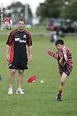 Saracens Kicking Clinic. 15-8-08. Old Albanians RFC