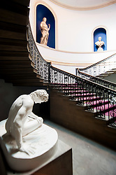 Wentworth Woodhouse - The Pillared Hall/Staircase<br /> 26 June 2013<br /> Image © Paul David Drabble<br /> www.pauldaviddrabble.co.uk