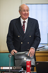 09.01.2014, Landesgericht fuer Strafsachen, Wien, AUT, Prozess rund um ehemalige Telekom-Vorstaende zur Causa Schillerplatz, im Bild ehemaliger Telekom Chef Heinz Sundt // former Telekom Austria Chief Heinz Sundt before hearing of former Telekom Austria Chairmen because of real estate business about Schillerplatz, regional court for criminal affairs, Vienna, Austria on 2014/01/09, EXPA Pictures © 2014, PhotoCredit: EXPA/ Michael Gruber