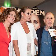 NLD/Amsterdam/201905229 - 10-jarig jubileum van Helden, Barbara Barend, Inge de Bruin en Frits Barend