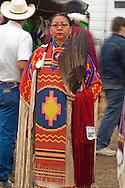 Elder, Crow, Traditional dancer, Crow Fair, powwow, Montana