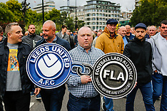 7 Oct 2017 - Football Lads Alliance march against extremism in Central London.