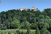 Burg Hohenklingen über Stein am Rhein, Bodensee, Thurgau, Schweiz