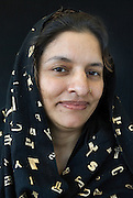 Jeune femme musulmane pakistanaise.