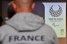 2018 Regroupement Staff France Paralympique pour Tokyo 2020