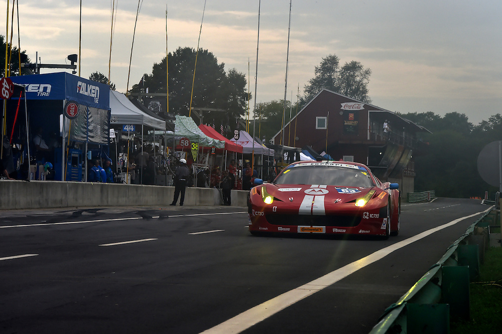 22-24 August 2014, Alton, Virginia USA<br /> 63, Ferrari, 458 Italia, GTD, Alessandro Balzan, Jeff Westphal<br /> &copy;2014, Scott R LePage <br /> LAT Photo USA
