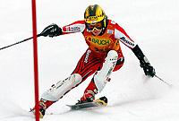 Alpint<br /> Verdenscup slalåm kvinner<br /> 8. februar 2004<br /> Arber - Tyskland<br /> Foto: Digitalsport<br /> Norway Only<br /> Renate Goetschl