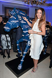 Model Courtney Sixx at the 4th Longines World's Best Racehorse Ceremony, Claridge's, Brook Street, London England. 24 January 2017.