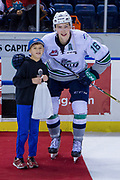 KELOWNA, CANADA - OCTOBER 10: First Star of the Game Noah Philp #16 of the Seattle Thunderbirds at the Kelowna Rockets game on October 10, 2018 at Prospera Place in Kelowna, British Columbia, Canada. (Photo By Cindy Rogers/Nyasa Photography, *** Local Caption ***