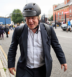 © Licensed to London News Pictures. 08/09/2018. London, UK. Former foreign secretary BORIS JOHNSON is seen leaving The Oval cricket ground in London after watching an England test match against India.. It was announced yesterday that Mr Johnson is to divorce his wife of 25 years, Marina Wheeler. Photo credit: Ben Cawthra/LNP