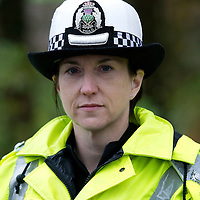 Fatal Road Traffic Collision on the A94 Perth to Coupar Angus road by the entrance to Perth Airport at Scone....18.11.11<br /> Tayside Police Road Policing Unit Inspector Emma Bowman<br /> Copyright Perthshire Picture Agency<br /> Tel: 01738 623350  Mobile: 07990 594431