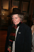 MAGGIE  HAMBLING, 'The Unknown Monet: Pastels and Drawings. Royal Academy. London. 13 March 2007.  -DO NOT ARCHIVE-© Copyright Photograph by Dafydd Jones. 248 Clapham Rd. London SW9 0PZ. Tel 0207 820 0771. www.dafjones.com.