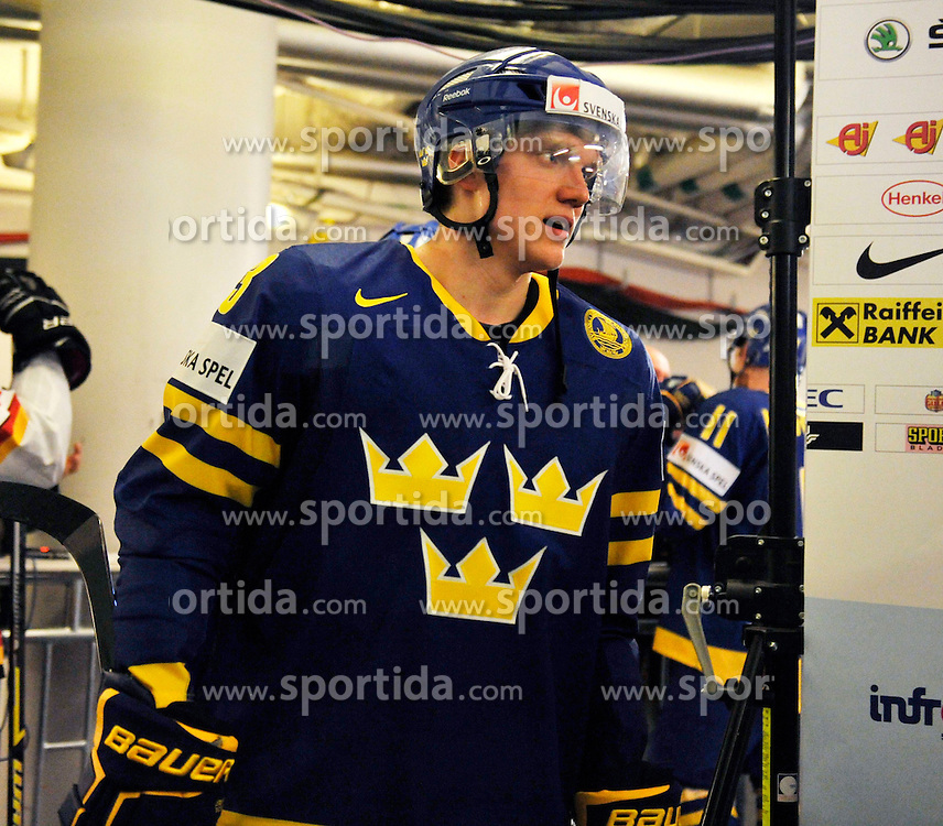09.05.2012, Ericsson Globe, Stockholm, SWE, IIHF, Eishockey WM, Deuschland (GER) vs Schweden (SWE), im Bild 33 Jakob Silfverberg // during the IIHF Icehockey World Championship Game between Germany (GER) and Sweden (SWE)at the Ericsson Globe, Stockholm, Sweden on 2012/05/09. EXPA Pictures © 2012, PhotoCredit: EXPA/ PicAgency Skycam/ Simone Syversson..***** ATTENTION - OUT OF SWE *****