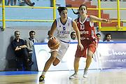 CAGLIARI 21 AGOSTO 2011<br /> CAMPIONATI EUROPEI U 16<br /> FINALE 3-4 POSTO ITALIA TURCHIA<br /> NELLA FOTO SANDALASINI<br /> FOTO CIAMILLO