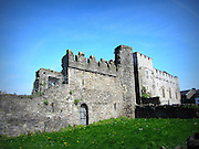 Swords Castle, Swords, Dublin c.1200,