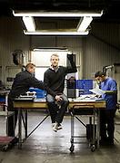 Limhamn 2014.<br /> Fredrik Serger, CEO of Setrab. Setrab makes radiators for top-end cars.<br /> Photo Ola Torkelsson &copy;
