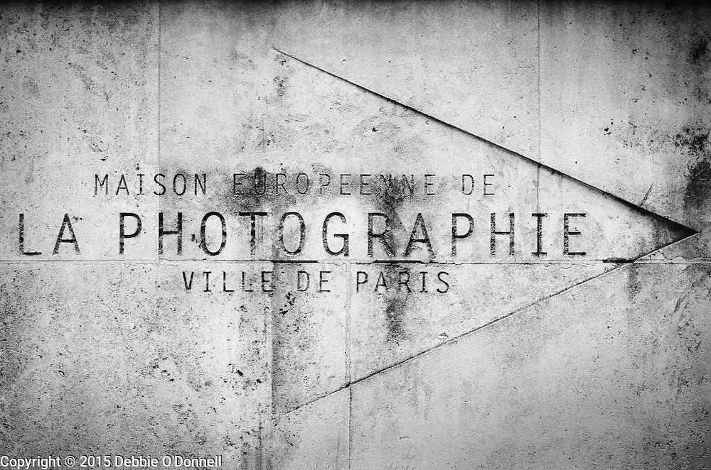 Maison Européenne de la Photographie, a contemporary photography art museum in an 18th-century mansion.