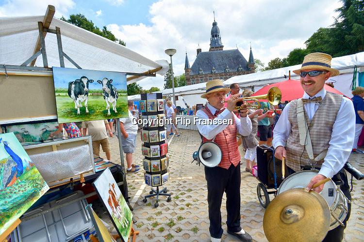 Nederland, Wijchen, 28-8-2016Eten, drinken en kunstmarkt in Wijchen.Foto: Flip Franssen