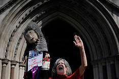 Leveson Enquir Protesters