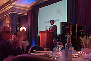 DR. HARPAL KUMAR; , The Foreign Sisters lunch sponsored by Avakian in aid of Cancer Research UK. The Dorchester. 15 May 2012