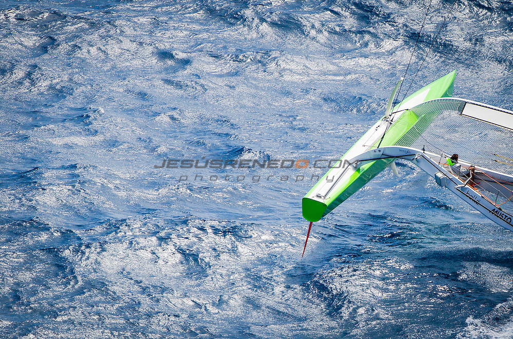 MOD 70 Phaedo³   Saint Marteen, 7th March 2015 , Heineken Regatta,  around the Island race.