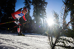 Nathan Smith (CAN) during Men 15 km Mass Start at day 4 of IBU Biathlon World Cup 2015/16 Pokljuka, on December 20, 2015 in Rudno polje, Pokljuka, Slovenia. Photo by Ziga Zupan / Sportida
